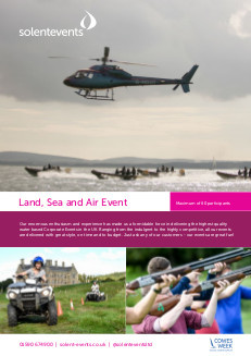 Land, Sea and Air Event