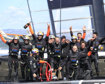 Stunning come back in 34th America's Cup