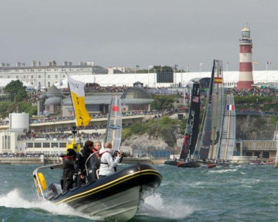 America's Cup World Series in PORTSMOUTH!