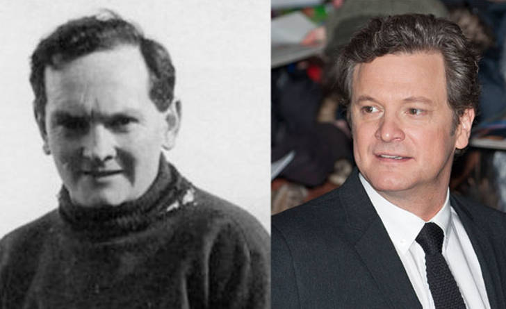 Donald Crowhurst and Colin Firth