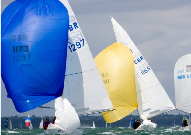 Corporate Sailing at Cowes Week