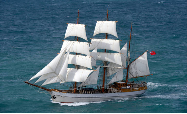 Tall Ship available for charter