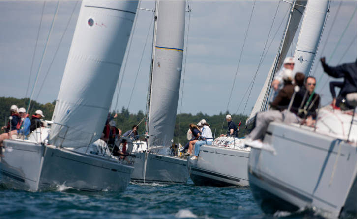 Little Britain Challenge Cup corporate sailing regatta