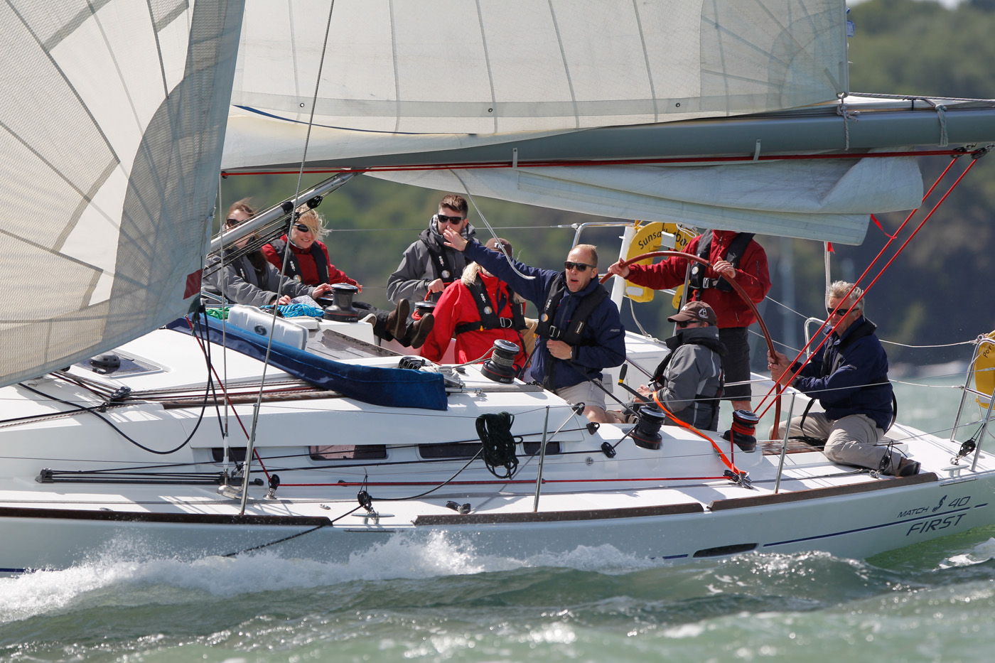 Travel Retain Consortium regatta 2015