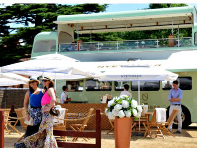 Sparkling wine for Cowes Week