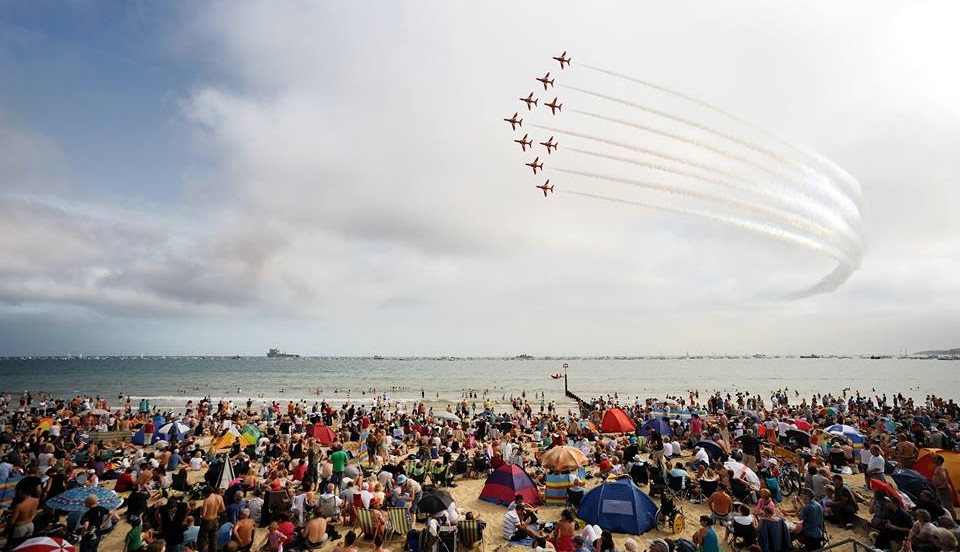 Bournemouth Air Festival….watch in style with Solent Events