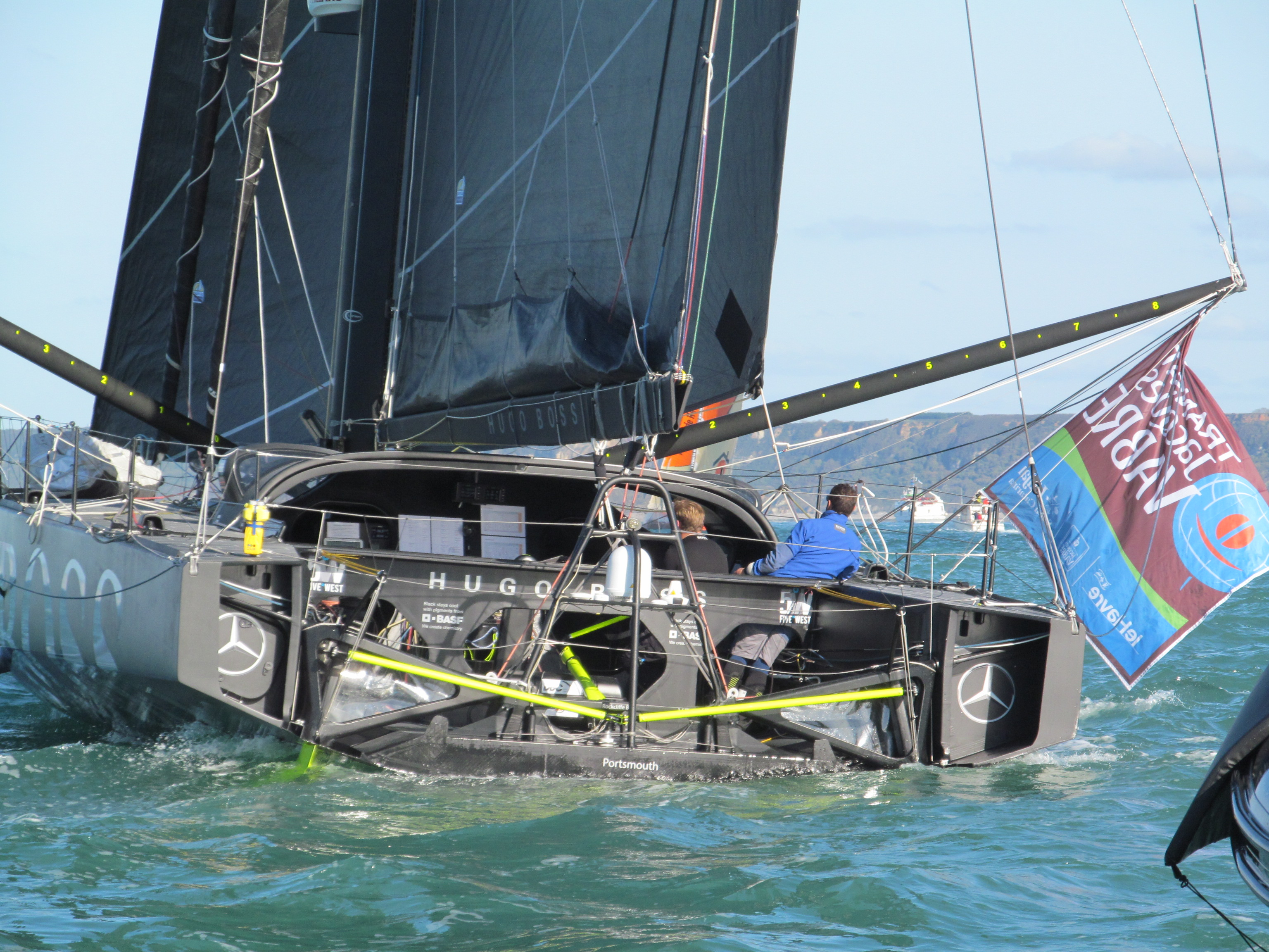Transat Jacques Vabre - Hugo Boss