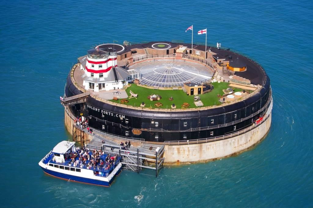 No Mans Fort in the Solent