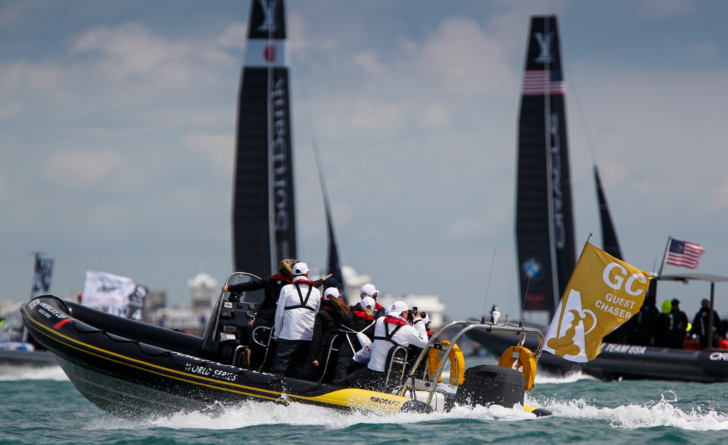 America's Cup World Rib support