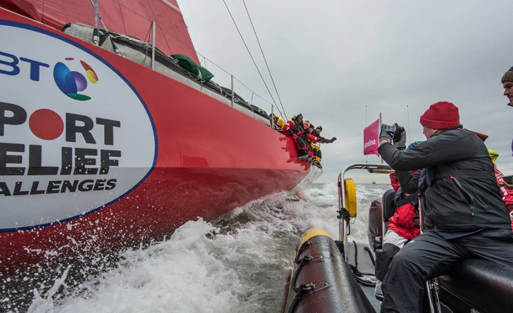 Sports Relief 'Hell on High Seas' sailing