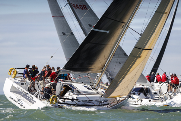 Corporate sailing racing