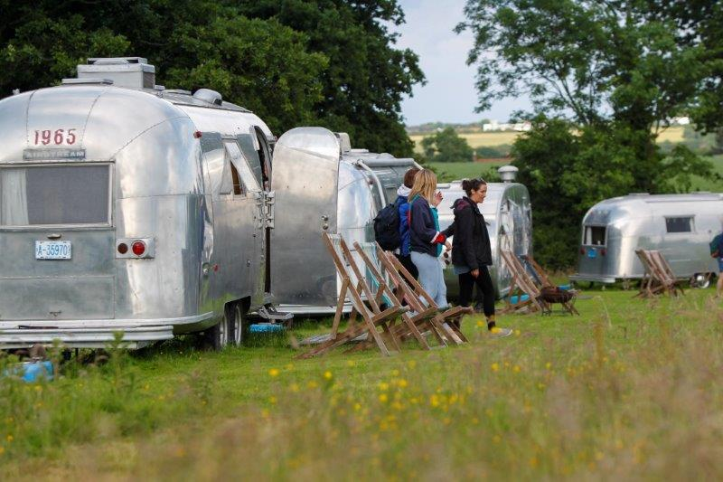 Isle of Wight vintage glamping