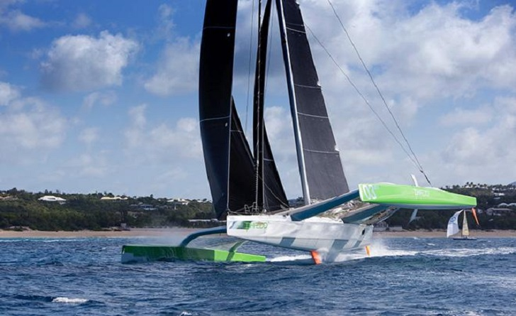 Phaedo3's record breaking run