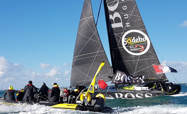 Alex Thomson finishes 2nd in the Vendee Globe
