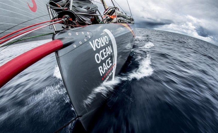 Volvo Ocean Race bow
