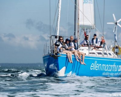 Dame Ellen MacArthur is to set sail around Britain