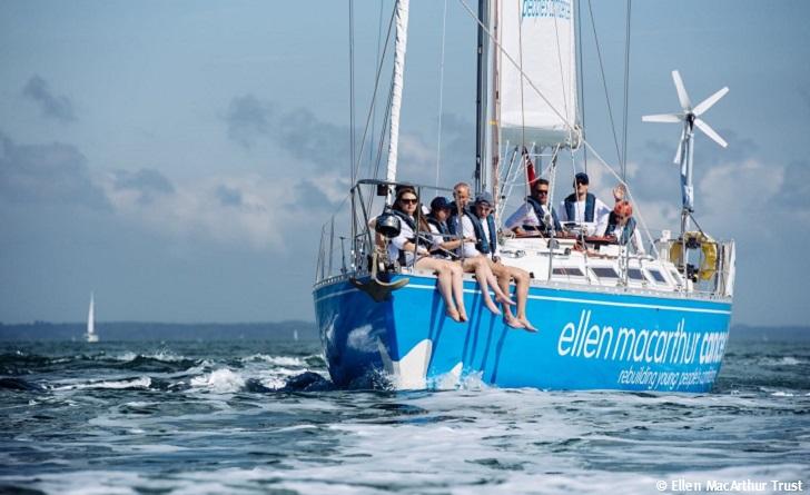 Ellen MacArthur Cancer Trust sailing