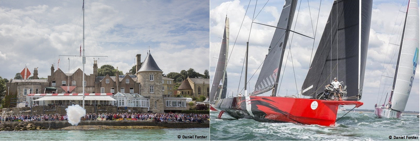 Fastnet Race Start at Cowes
