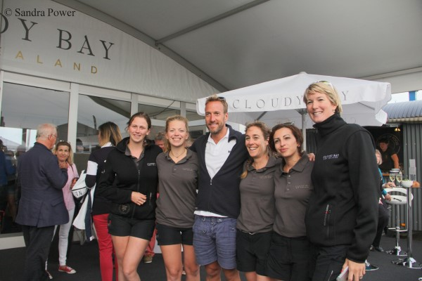 Solent Events Team with Ben Fogle
