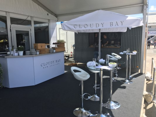 Cloudy Bay Lounge at Lendy Cowes Week
