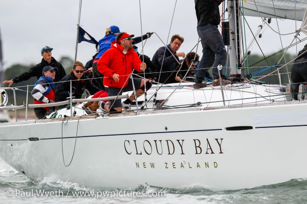 'Cloudy Bay' racing at Lendy Cowes Week 2017