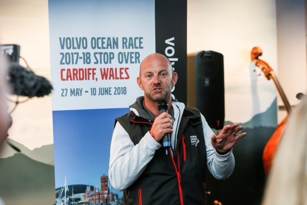 Ian Walker talks about the Volvo Ocean Race