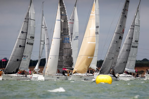 Corporate hospitality sailing regatta