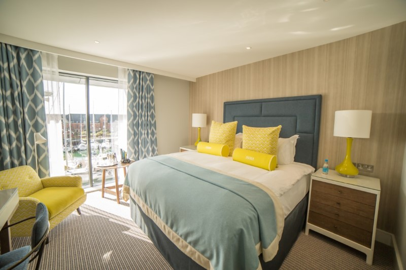 Southampton Harbour Hotel and Spa bedroom