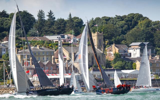 Solent sailing history