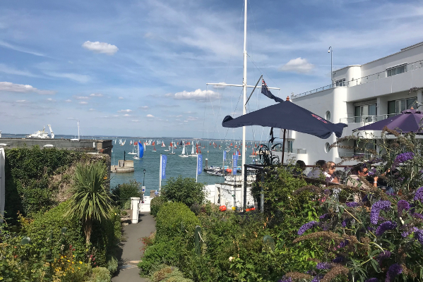 Solent Events VIP area for Cowes Week