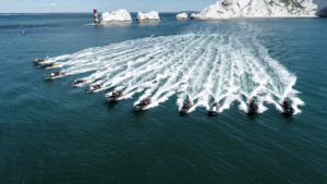 Rib fleet at Needles