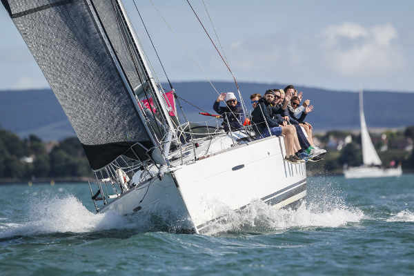 Cowes Week charter yacht