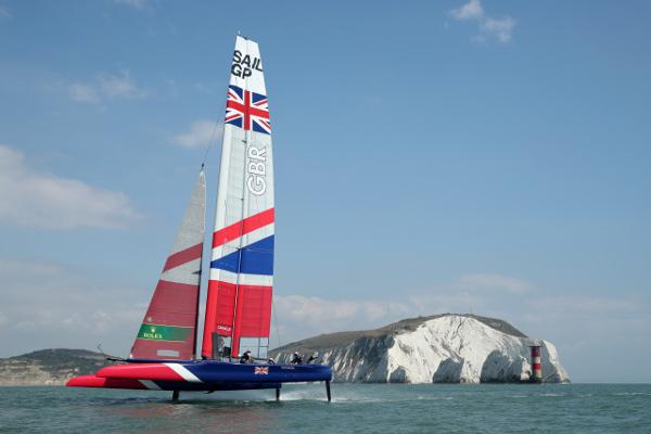 SailGP racing