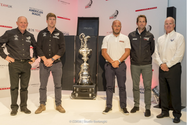 America's Cup Trophy