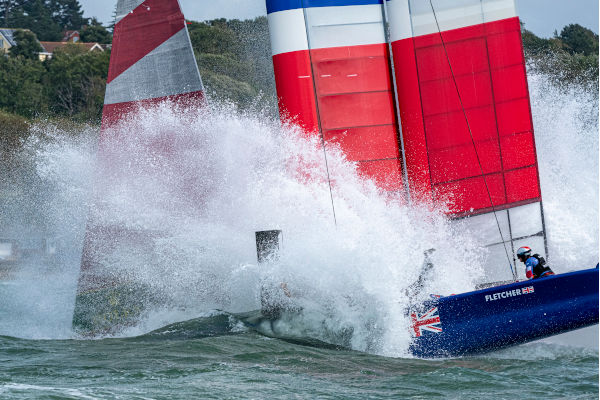 SailGP Team GBR F50 Nosedive