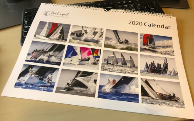 Paul Wyeth 2020 Calendar
